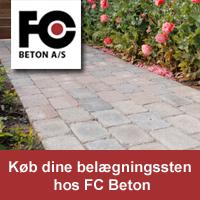 04cbb47d FC Beton støber selv alle fliser, og levere til forskellige projekter som  terrasser, indkørsler og lignende. Du får det leveret lige til indkørslen