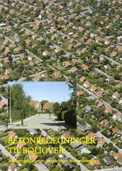 Betonbelægning til boligvej