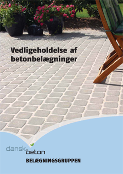 Vedligeholdelse af betonbelægninger