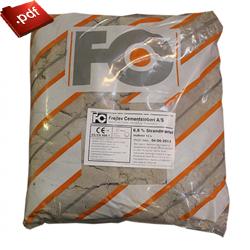 FC 508 Strandsandsmørtel 6,6 procent