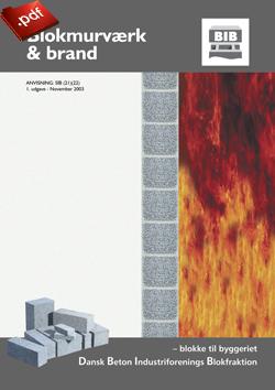 Blokmurværk og brand