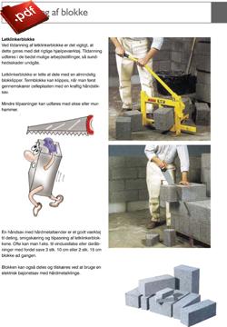 Tildanning af blokke