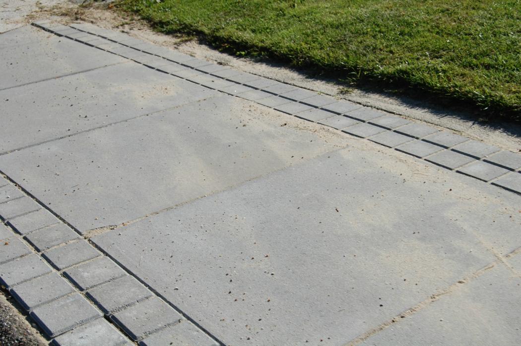 Fortov   bestil fortovsfliser, grus og sand hos fc beton