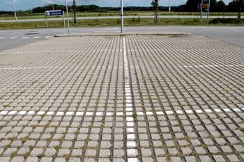 Parkeringsplads ved IKEA Aalborg