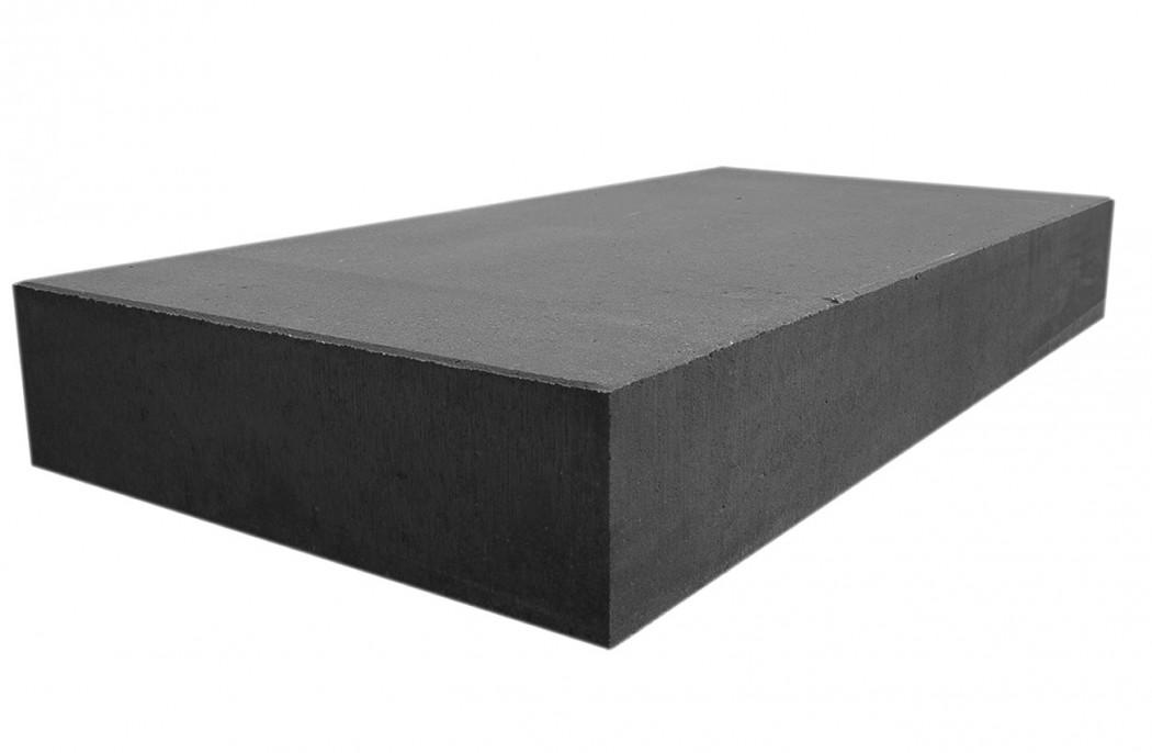 Sort trappetrin i beton - køb flere tykkelser til lav pris