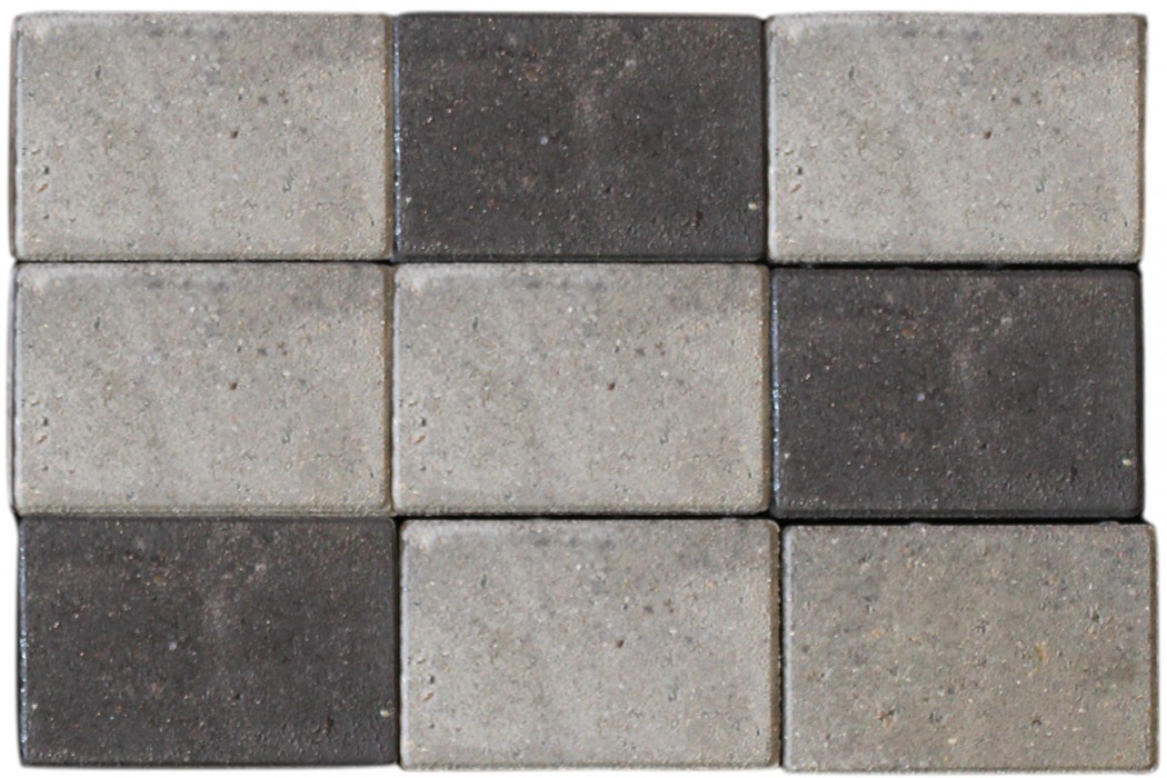 Image of   Belægningssten gråmix 14/21 x 6 med fas