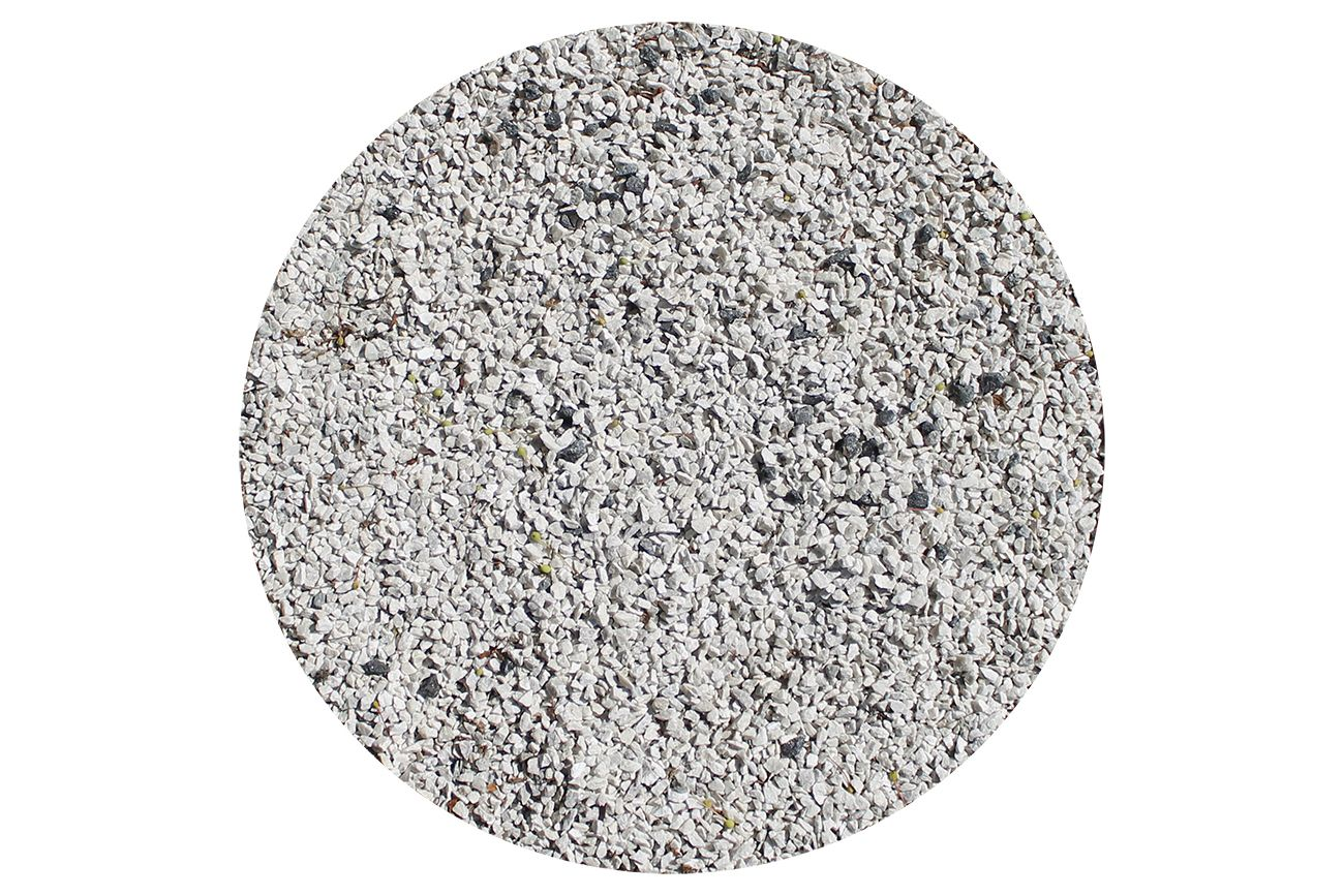 Hvide granitsten