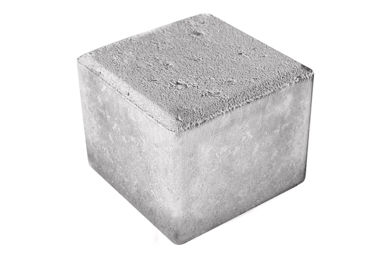 Kopsten grå 10x10x8