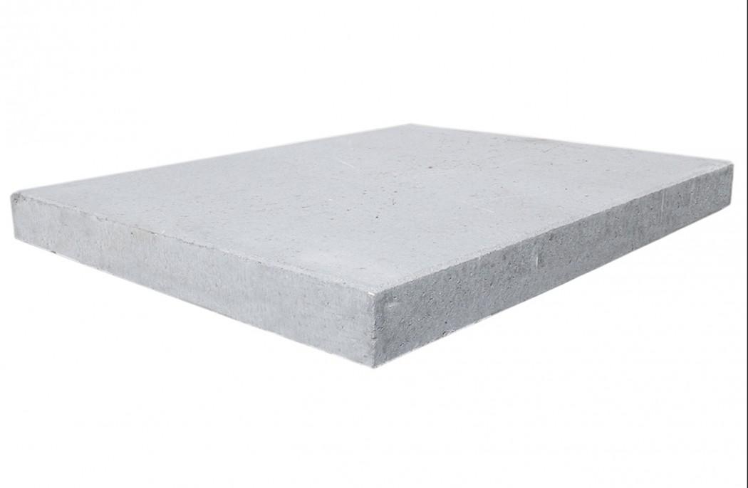 Image of   Grå 62,5x80x7 Fortovsfliser skarpkantet