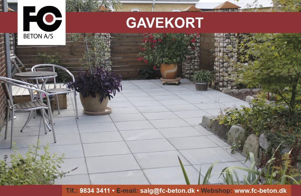 Image of   Gavekort på valgfrit beløb