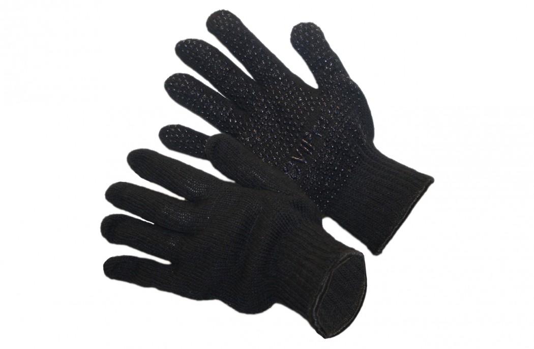 Image of   Billige handsker i strik med gummidutter