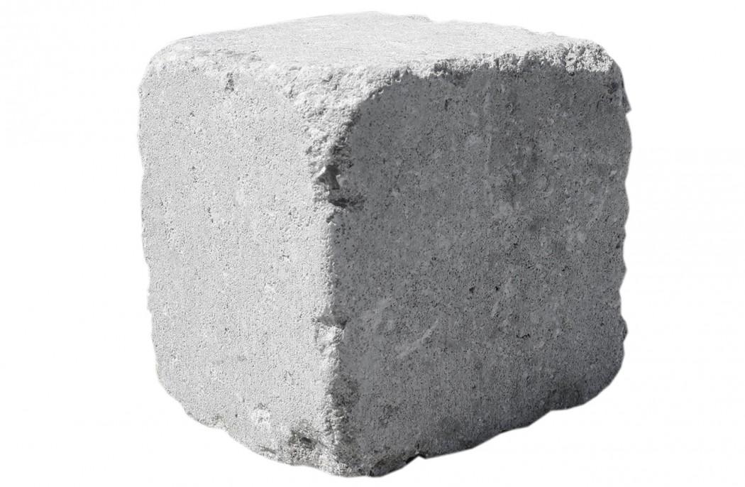 Image of   Grå Cirkelblok, stor m/slået kant 14x15/11x14 - I REST
