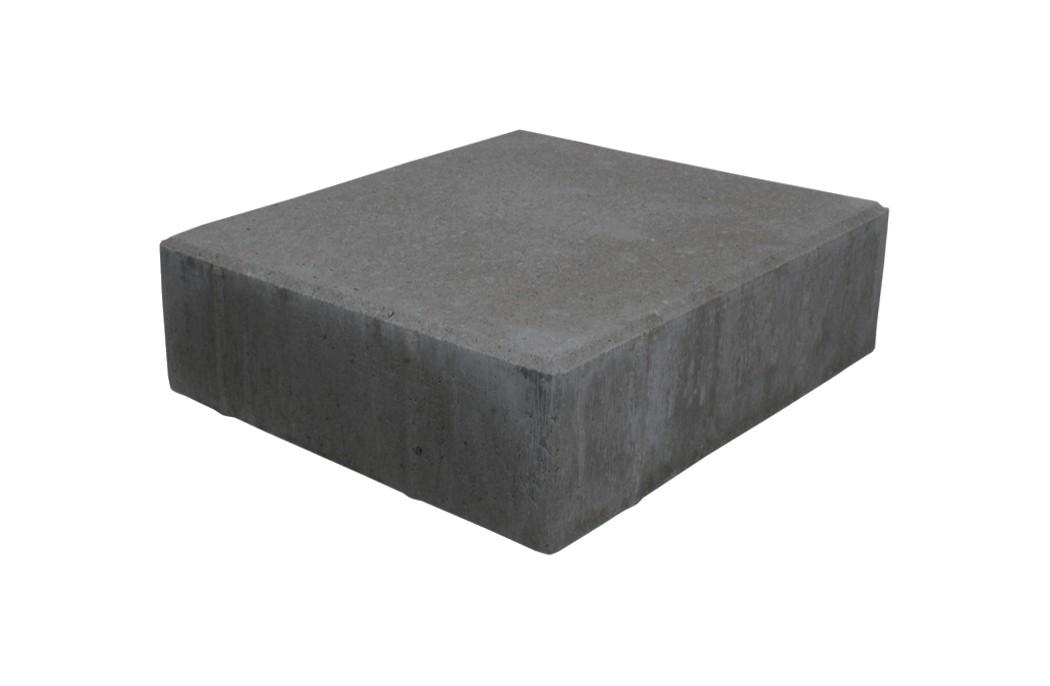 Sorte / koksgrå Havefliser 15x15x6